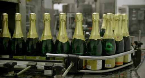 Bottling Non-Alcoholic Sparkling Wine
