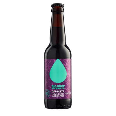 Big Drop Off-Piste Hazelnut Porter Alcohol-Free