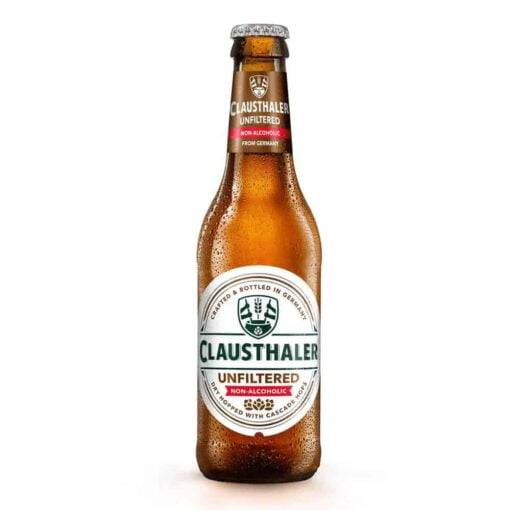Clausthaler Unfiltered Non-Alcoholic Beer