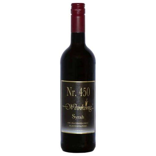 Weinkoenig Syrah Alcohol-Free Red Wine