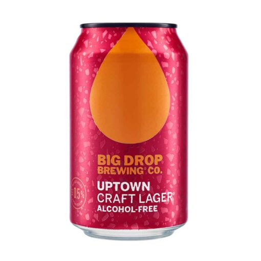 Big Drop Uptown Craft Lager Alcohol-Free