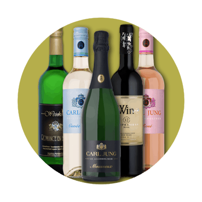 Non-alcoholic and alcohol-free wines