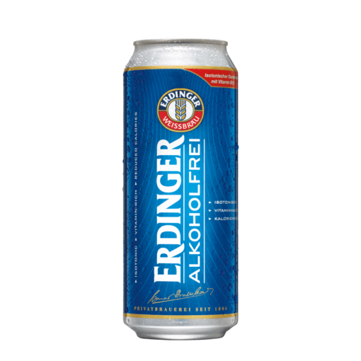 Erdinger Alcohol-Free Wheat Beer 500ml Can